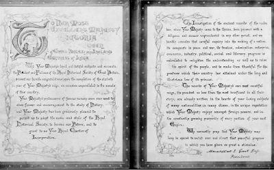 RHS letter 1897