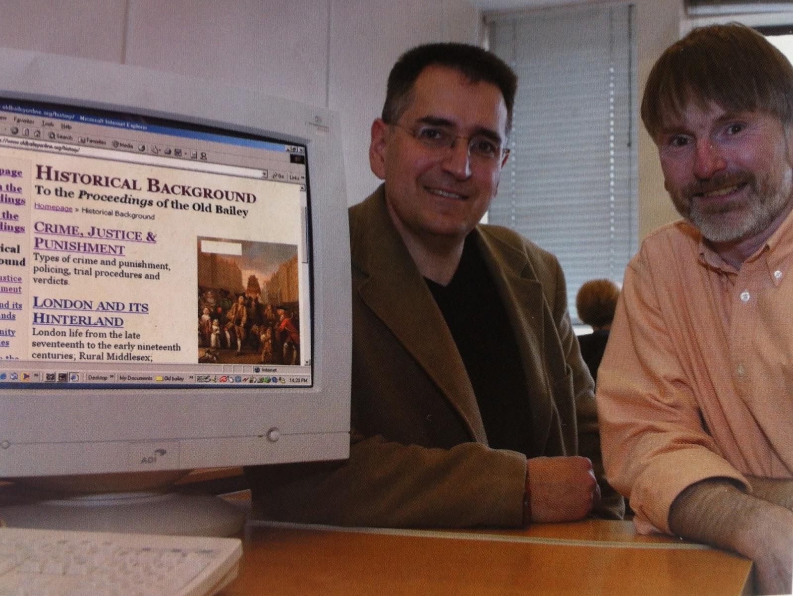 RHS Colin Matthew Memorial Lecture - Professor Tim Hitchcock and Professor Robert Shoemaker 'Making History Online'.