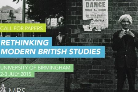 Rethinking Modern British Studies