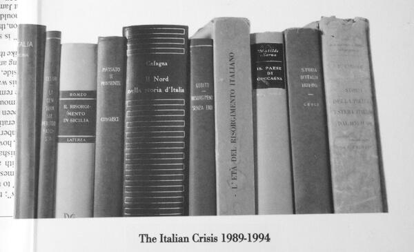 The Italian Crisis: Twenty Years on