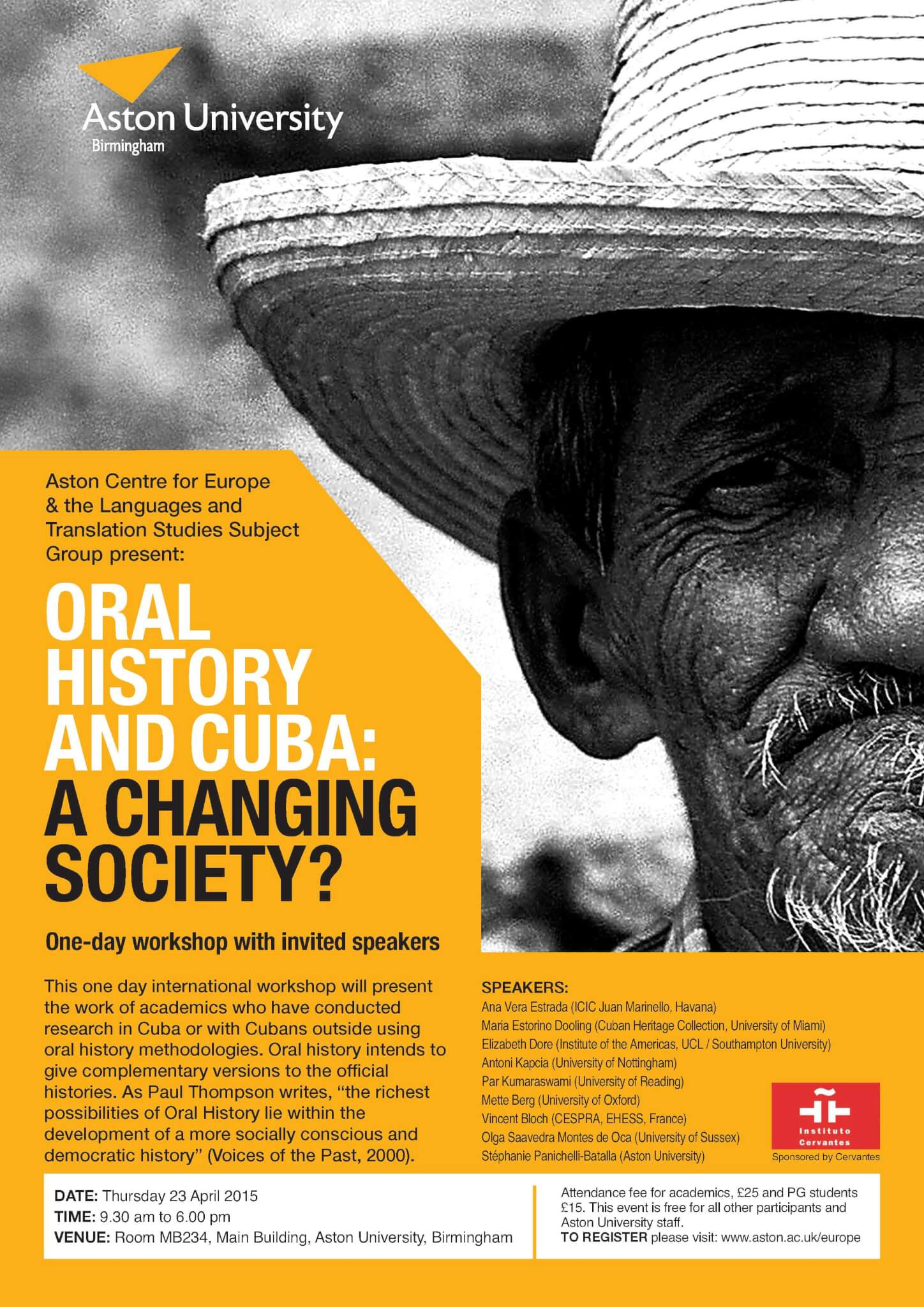 Oral History and Cuba: A Changing Society?