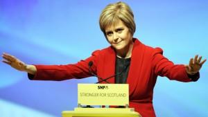 GE2015 Nicola Sturgeon