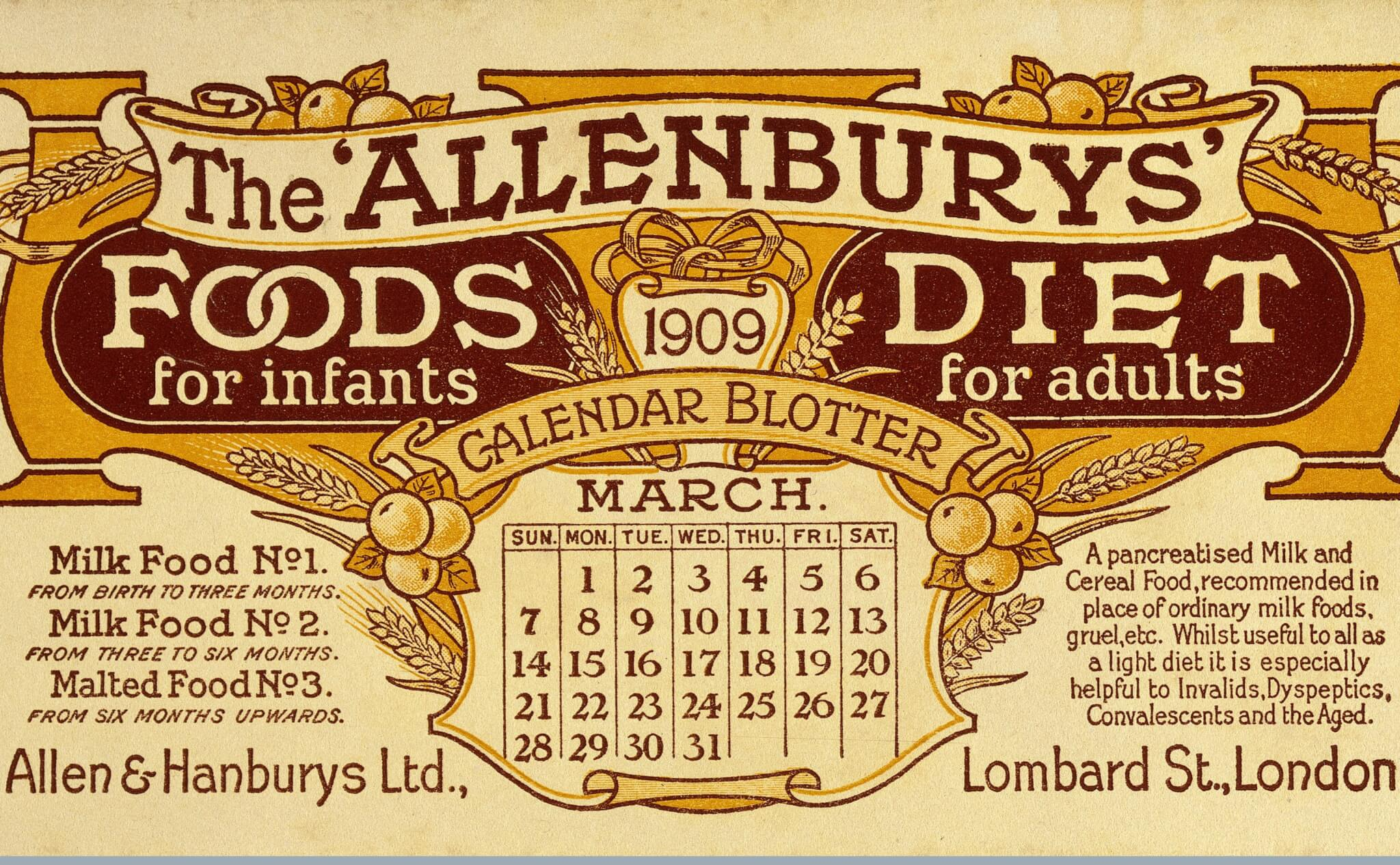 Dietary Innovation and Disease in the 19th and 20th centuries