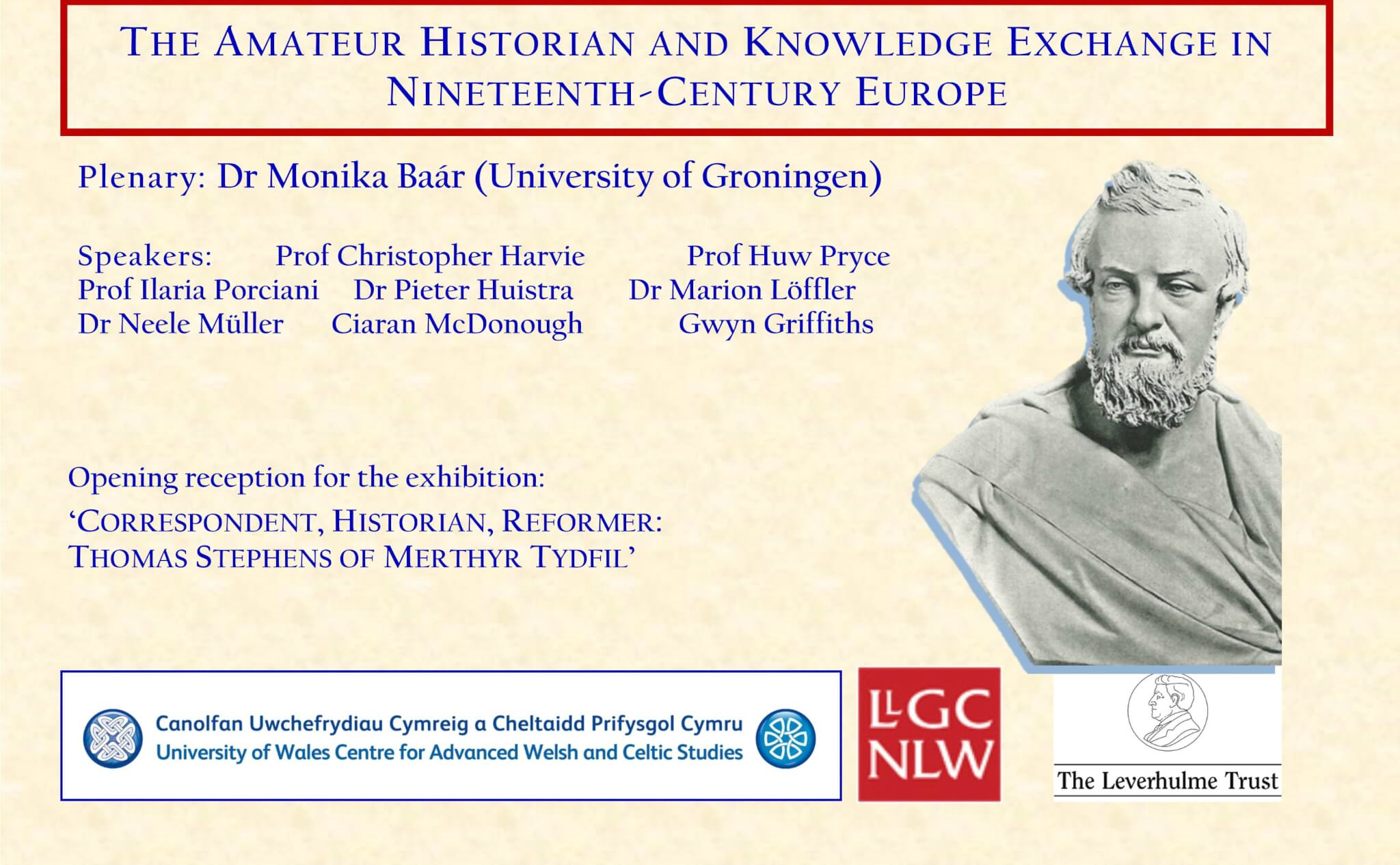 International Workshop -The Amateur Historian and Knowledge Exchange in Nineteenth-Century Europe
