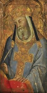 Bartolo-di-Fredi A-Papal-Saint-Saint-Gregory-the-Great-1380