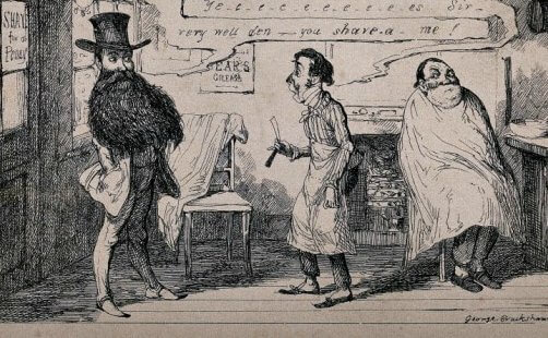 Framing the Face: new perspectives on the history of facial hair