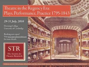 Regency Conference poster 2016