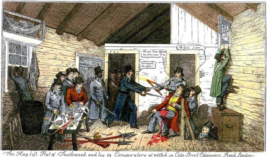 Cato Street and the Revolutionary Britain in Britain and Ireland