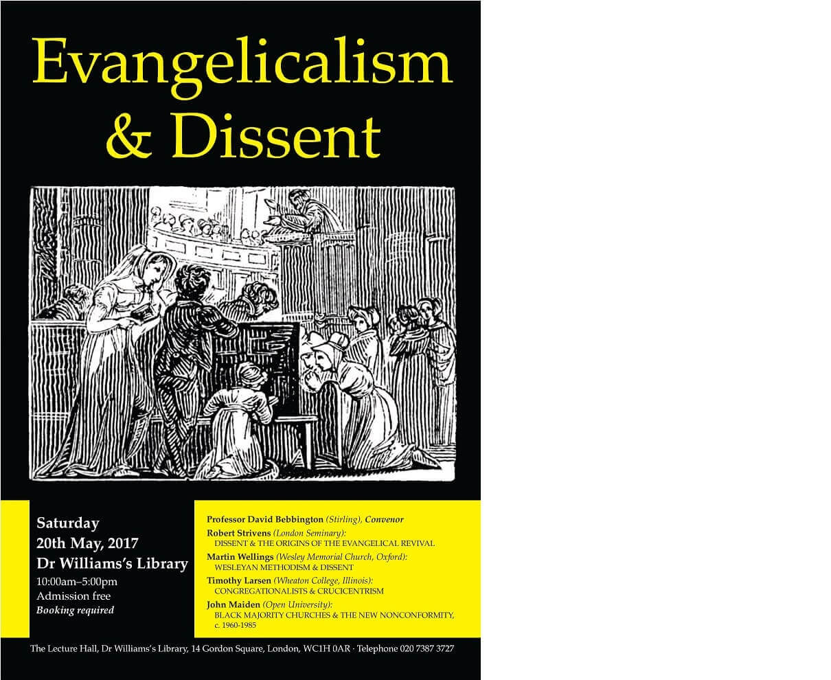 Evangelicalism and Dissent