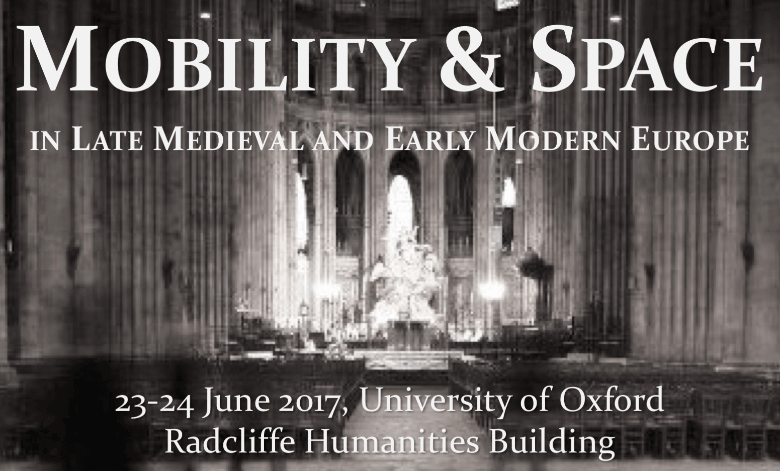 Mobility and Space in Late Medieval and Early Modern Europe