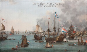 The Dutch in the Medway, 1667. Anglo-Dutch rivalry in its global context, 1652-74