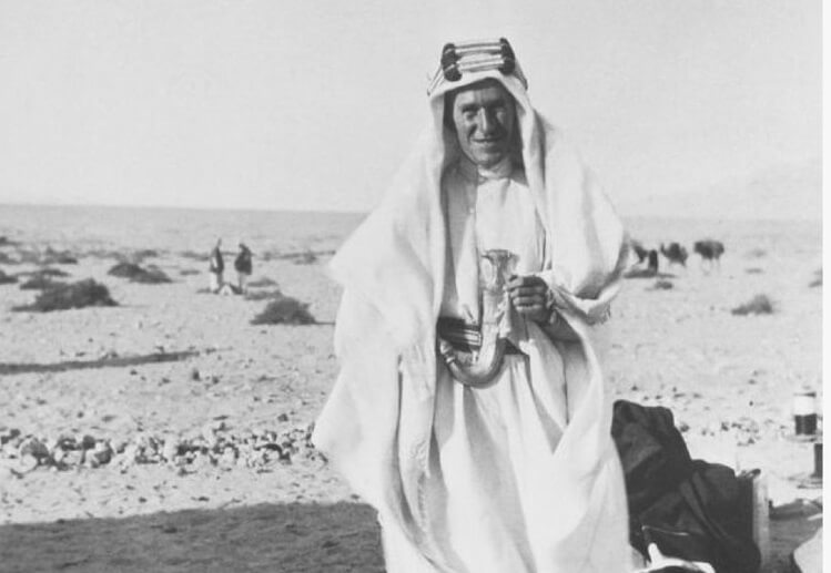 Lawrence, the British Armed Forces and the First World War in the Middle East