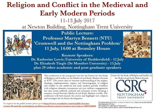 Religion and Conflict in the Medieval and Early Modern Periods