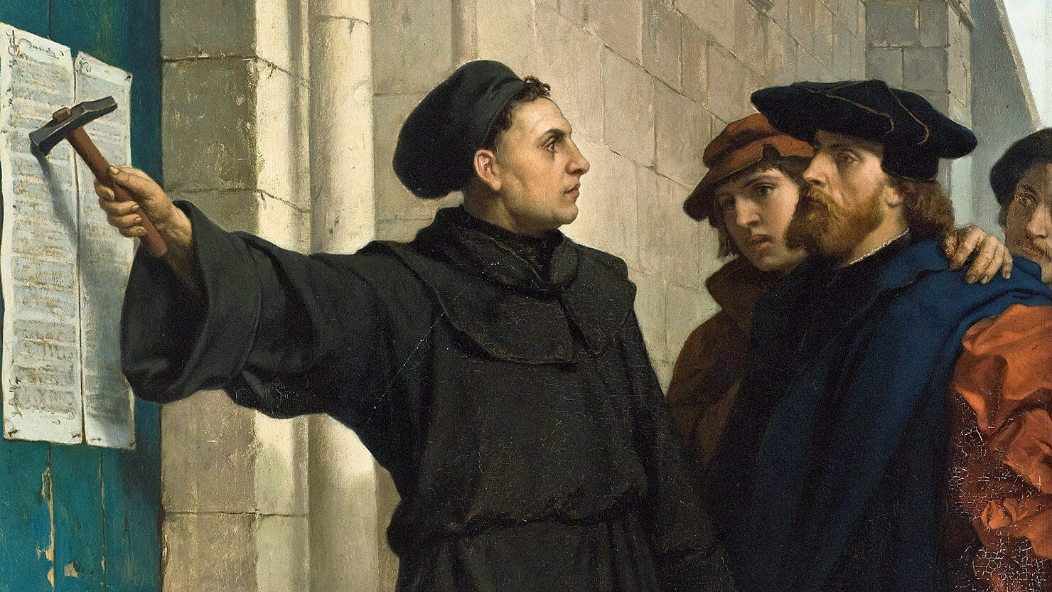 Martin Luther and the East Midlands