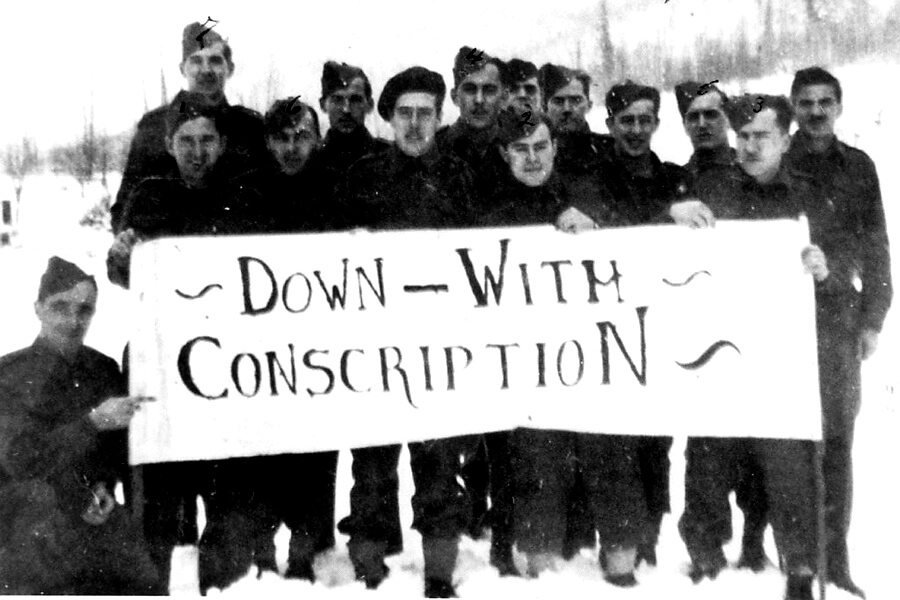 Conscription and its Malcontents in the First World War