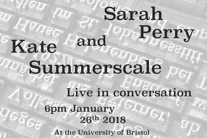 Sarah Perry and Kate Summerscale in Conversation