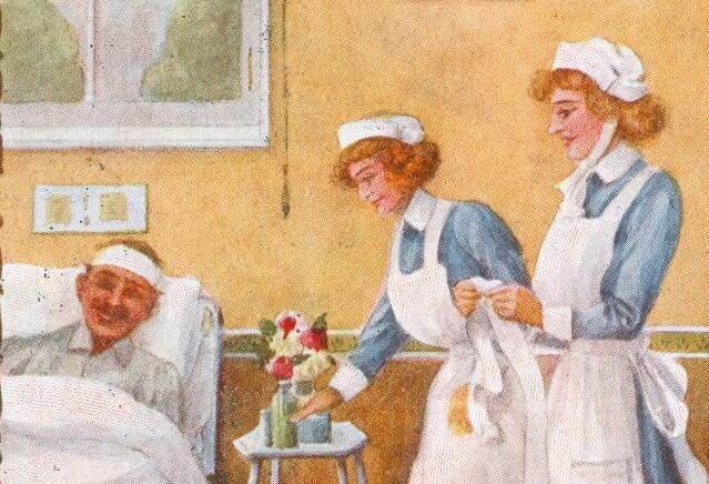 Deeds not Words: Nursing at War