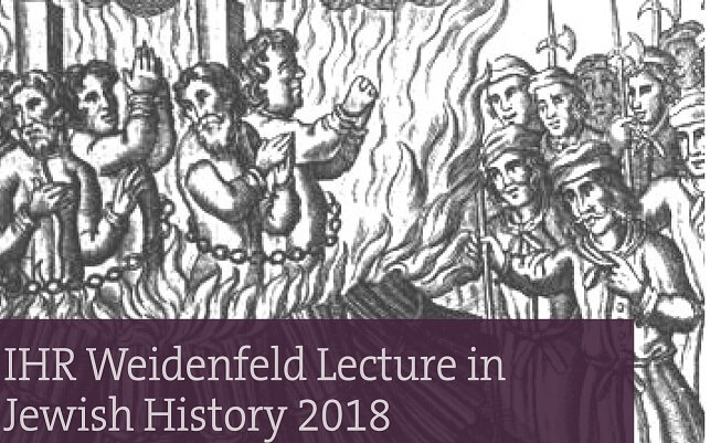 IHR Weidenfeld Lecture in Jewish History 2018: Marginalised pasts: Jews and Muslims in the history of Europe