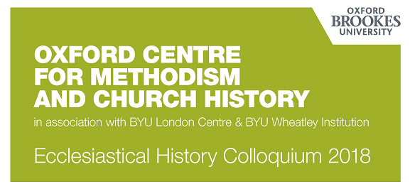 Ecclesiastical History Colloquium 2018