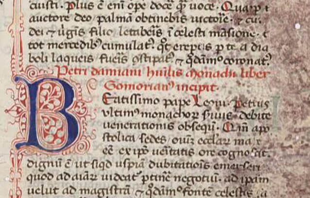 The Drive for Purity: the Roles of Monastic Orders and the Papacy