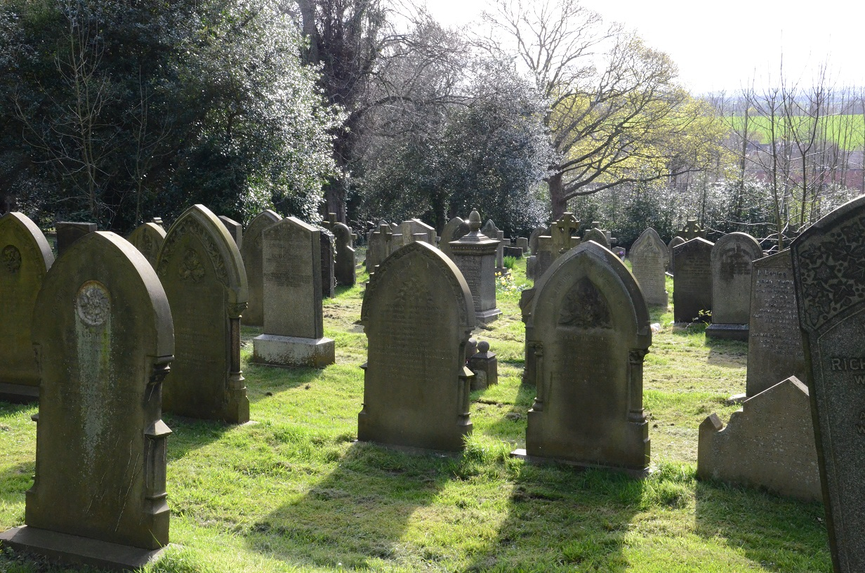 'Let's talk of graves' Mortality and graveyards c.1700- c.1950