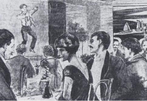 Worshipping the Golden Calf: Madame Strindberg's Cabaret Theatre Club