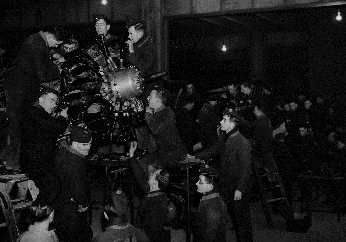 RAF Museum Trenchard Lecture in Air Power: Mass Production Methods and the Aircraft Engine in WW2