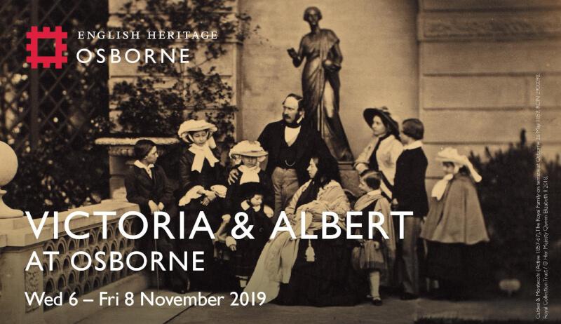 Victoria and Albert at Osborne