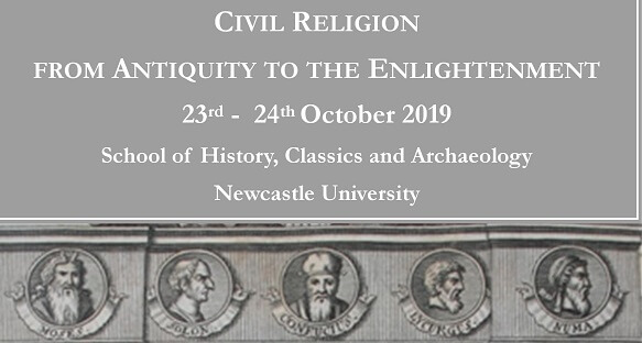 Civil Religion: From Antiquity to the Enlightenment