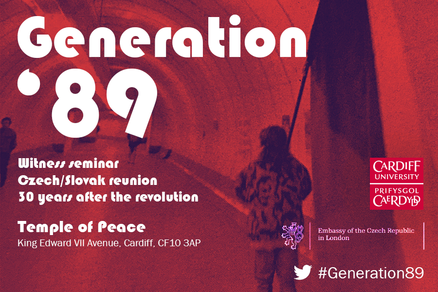 Generation '89. Witness Testimony from Czechoslovakia's 1989 Revolution