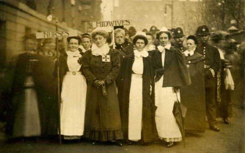 Activism, Nursing and Women's Rights: Then and Now