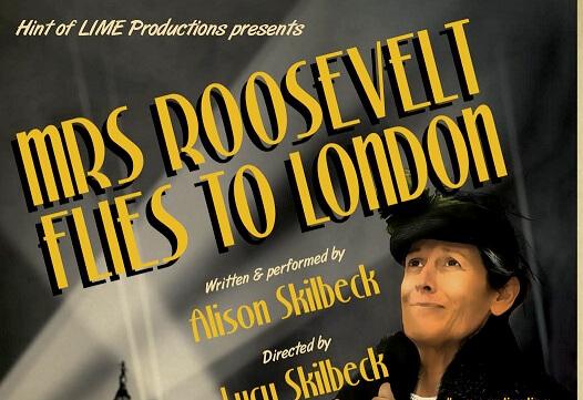 Mrs Roosevelt Flies to London
