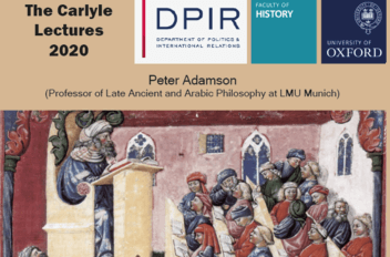 The Carlyle Lectures 2020