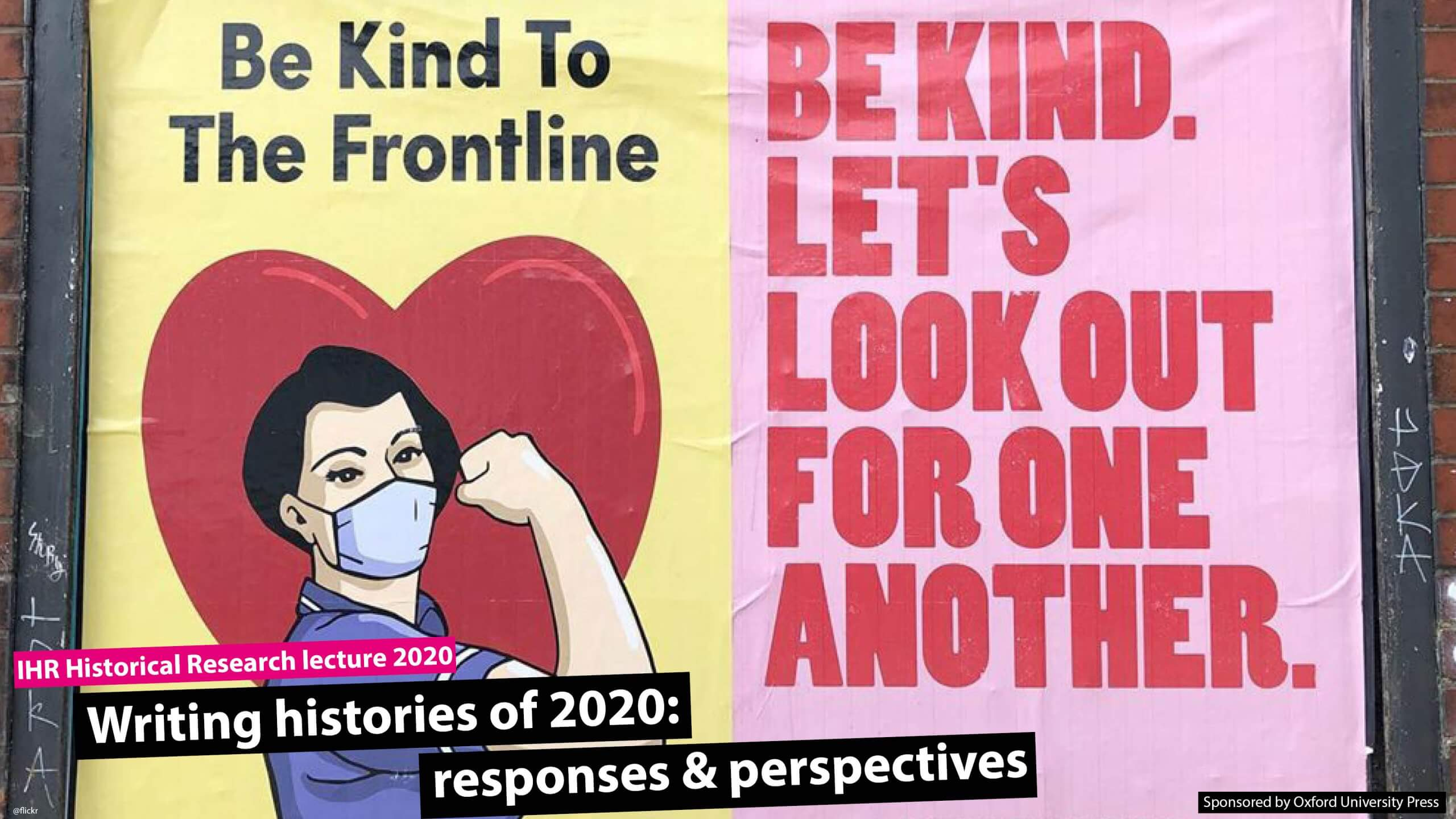 Writing histories of 2020: responses and perspectives