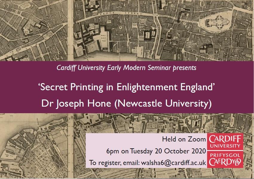 Secret Printing in Enlightenment England