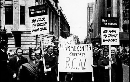 Raising the Roof: A History of Nursing Activism