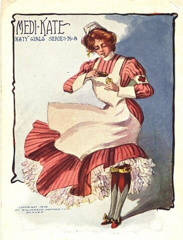 Pictures of nursing: Nurses and nursing on postcards 1890-1910