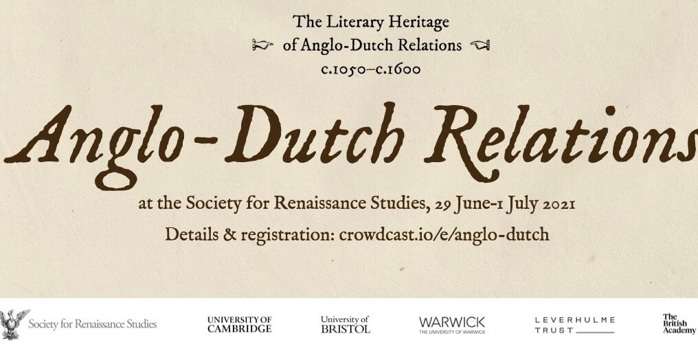 Anglo-Dutch Relations at the Society for Renaissance Studies