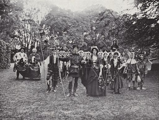 Historical Pageants Evening