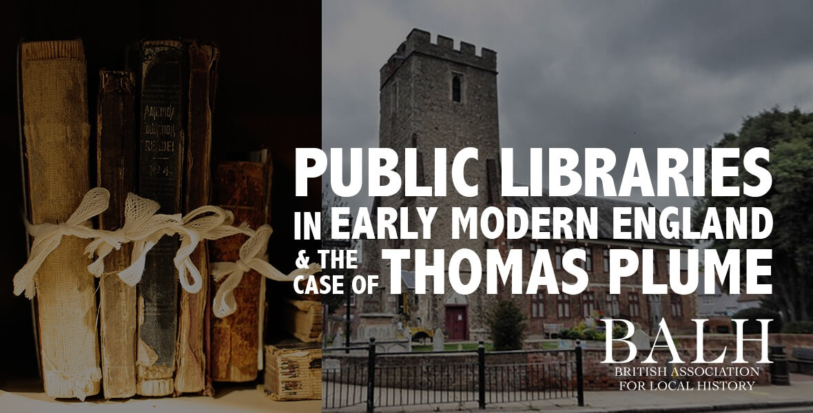 Public libraries in early modern England and the case of Thomas Plume