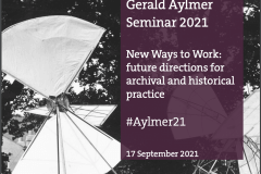 'New Ways to Work': 2021 Aylmer Seminar