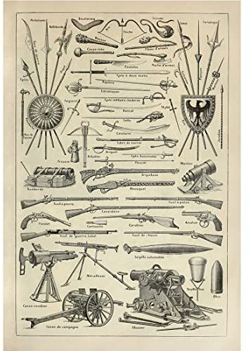 'The most furious and killing weapons': A History of Weapons and Warfare. Call for Papers, deadline 1 Nov 2021