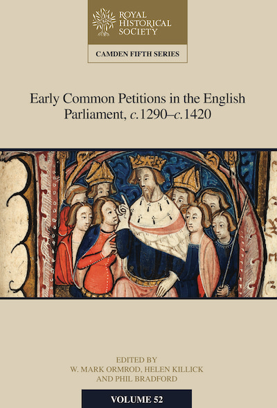 New Camden Volume on Medieval Petitions