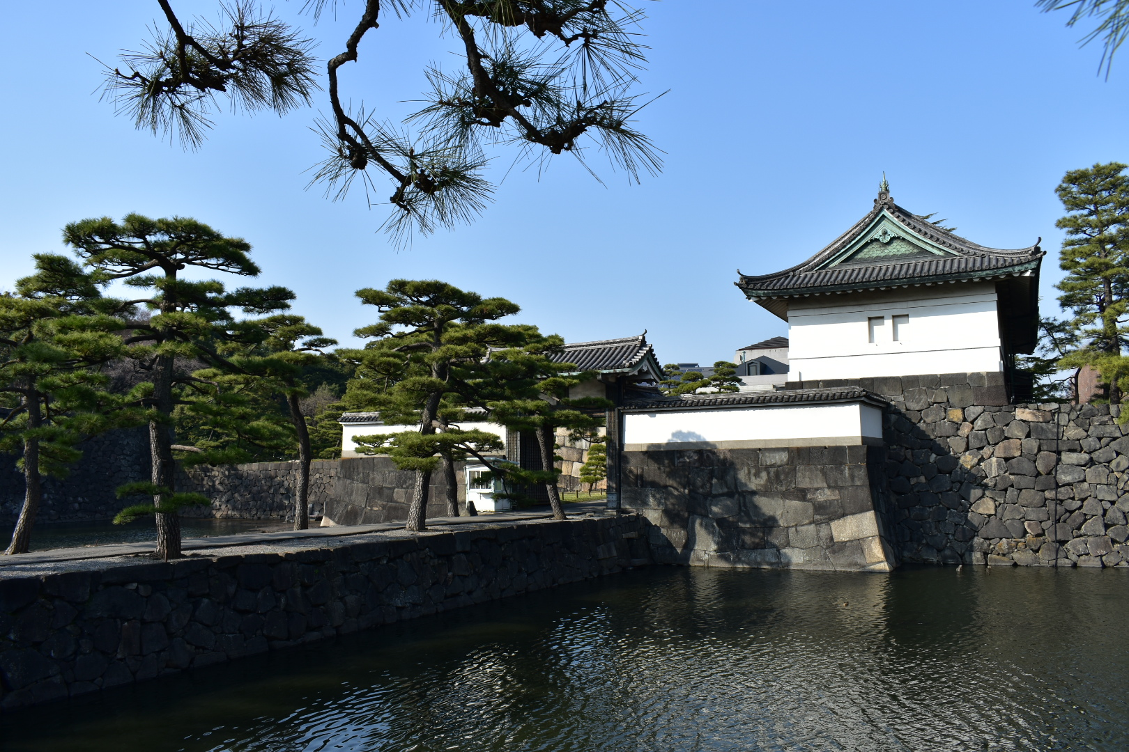 The Emperor, His Castle and Modern Japan.