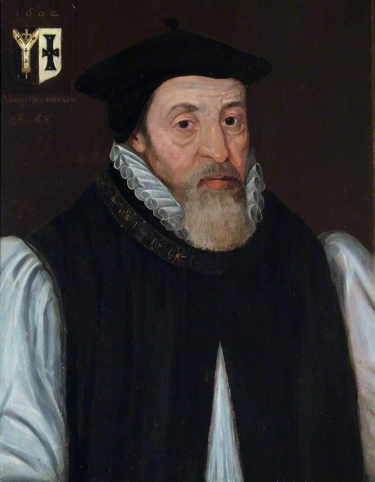 British (English) School; John Whitgift (c.1530-1604), Archbishop of Canterbury