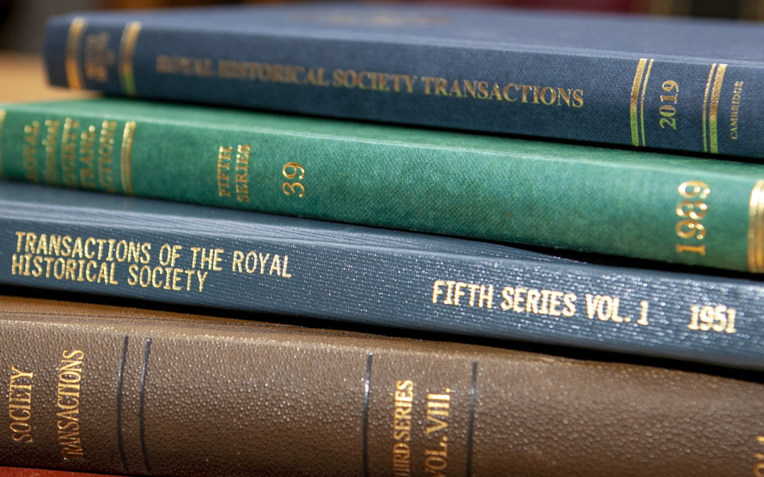 RHS Transactions Journal – A New Approach to Submissions