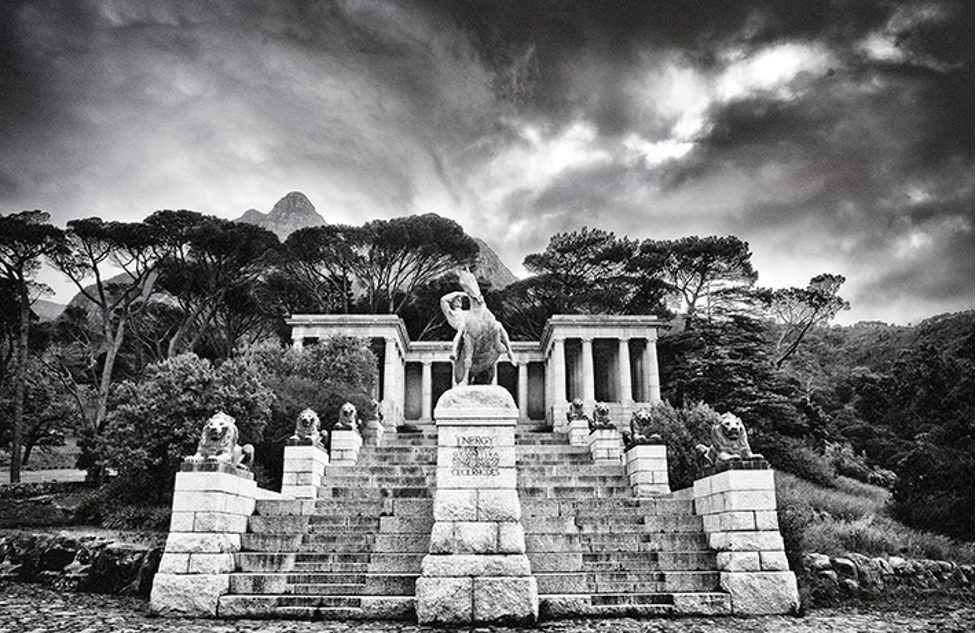 Rhodes Memorial. Located within in the Table mountain National Park.