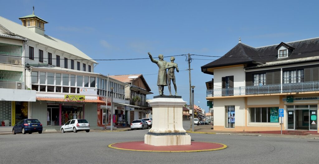 A square in Cayenne, French Guiana, named after French abolitionist Victor Schoelcher.