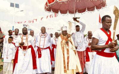 Nigerian cultural heritage abroad: the case of an Itsekiri chief