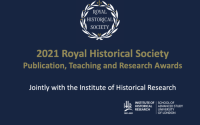 RHS Publication, Research and Teaching Awards, 2021